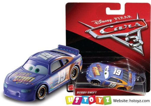 Disney Cars 3 - Bobby Swift