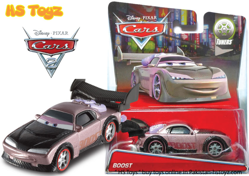 Boost Disney Cars 2 Mattel