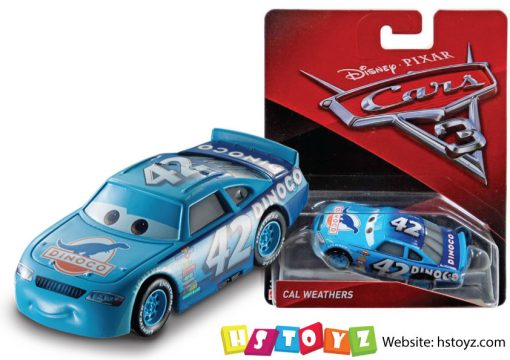 Disney Cars 3 - Cal Weathers