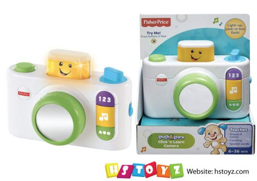 Fisher Price - Click N Learn Camera