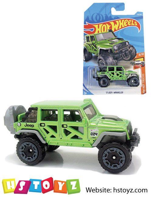 HotWheels - Jeep Wrangler