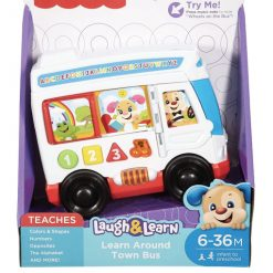 Fisher Price - Learn Around Town Bus