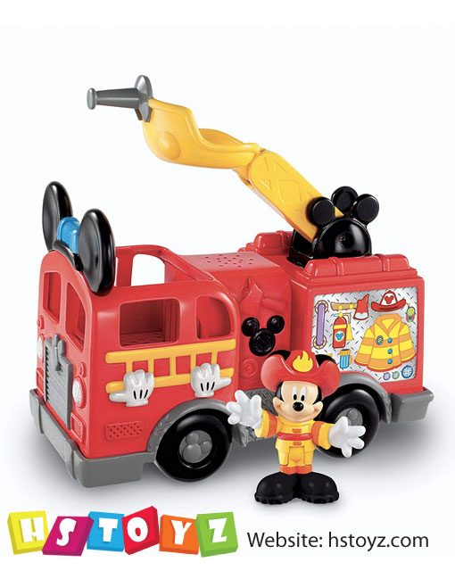 FisherPrice - Mickey Mouse Fire Truck