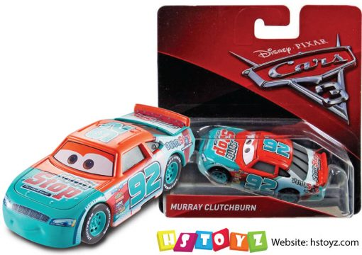 Disney Cars 3 - Murray Clutchburn