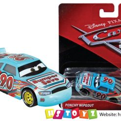 Disney Cars 3 - Ponchy Wipeout