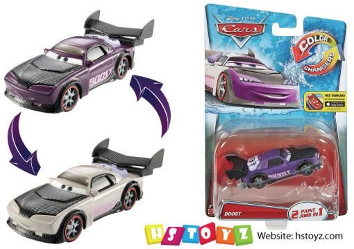 Disney Cars - Boost Color Changers