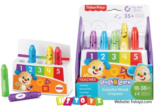 Fisher Price - Colorful Mood Crayons