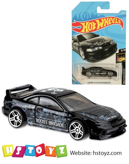 HotWheels - Custom 01 Acura Integra