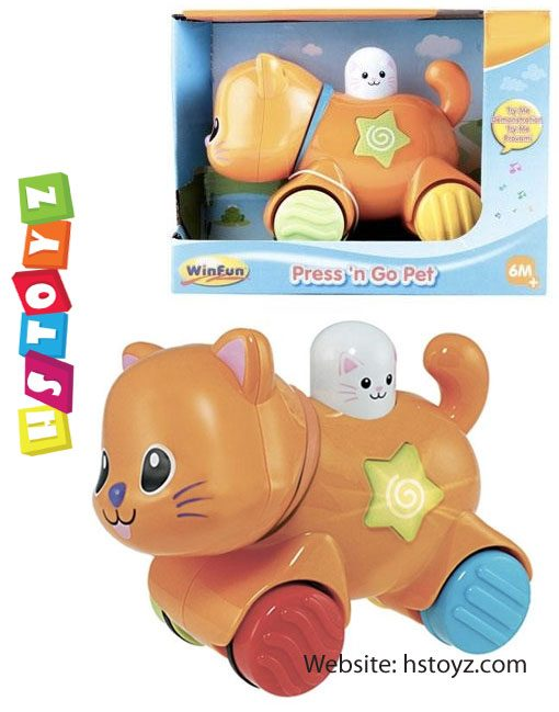 Winfun - Kitten Press N Go Pet