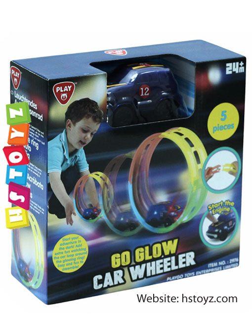 PlayGo - Go Glow Car Wheeler