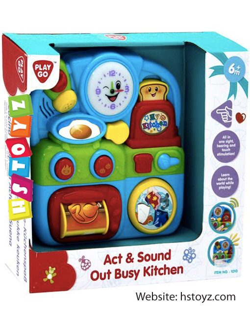 PlayGo - Act & Sound Out Busy Kitchen