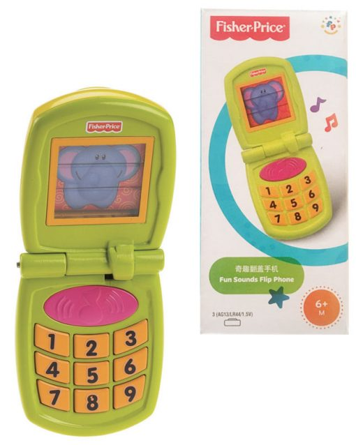 Fisher Price - Fun Sounds Flip Phone