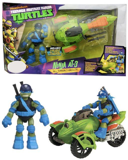 Playmates - Leonardo Ninja Turtle with Vehicle