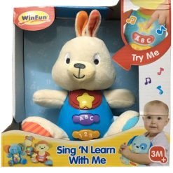 Winfun - Bouncy Bunny Sing N Learn With Me