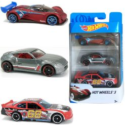 Hotwheels Toys - Cars 3 Pack