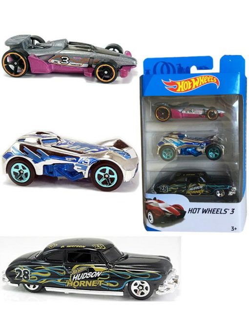 Hotwheels Mattel - Cars 3 Pack