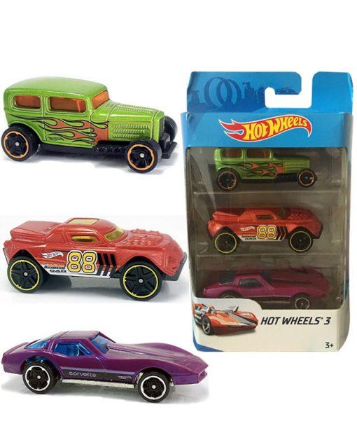 Hotwheels - Cars 3 Pack